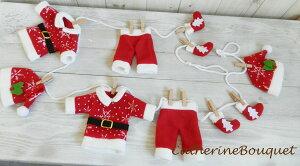 ツリーといっしょにディスプレイ。サンタさんのオーナメントです。【クリスマス】【飾り】【ツ...