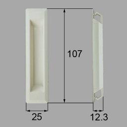 pnad738c LIXIL リクシル・トステム 引手(樹脂) 窓(サッシ)部品