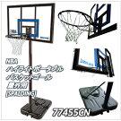 NBAハイライトポータブルバスケットゴール屋外用[SPALDING]スポルディング77455CN