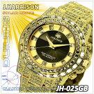 ジョン・ハリソン(J.HARRISON)シャニングソーラー電波時計(JH-025GB)