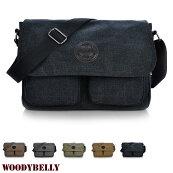 【即納】全5色ダブルポケット/キャンバスクラシックメッセンジャーバッグ/ショルダーバッグ/帆布バッグメンズ/カバンコットンバッグメッセンジャーアンティーク鞄カバンシンプルビジネスバッグ/A4サイズIpadも収納カジュアル軽量軽い/男性/