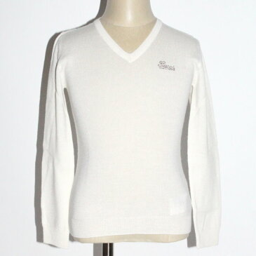 【期間限定】GUCCI Vネックセーター 296652 X8785 9004ホワイト ラインストーンロゴ ウール カシミア シルク GG WGスクールセーター ジュニア【新品・未使用・正規品】