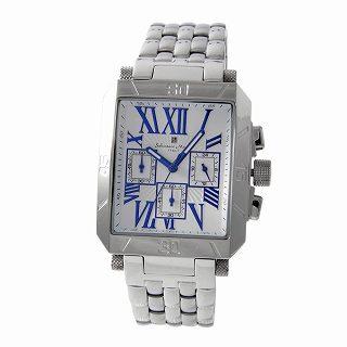 サルバトーレ・マーラ Salvatore Marra SM17117-SSWHBL  メンズ クロノグラフ 腕時計【r】【新品・未使用・正規品】