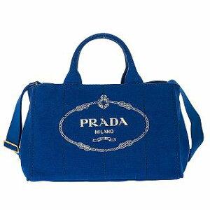 PRADA プラダ 1BG642 CANAPA/COBALTOブルー トートバッグ ショルダー ハンドバッグ●【新品/未使用/正規品】