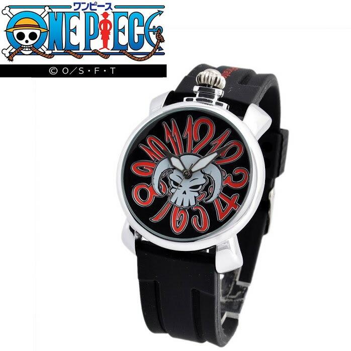 ワンピース ONE PIECE OP008A リューズトップ ウオッチ 「ポートガス・D・エース」 メンズ 腕時計【r】【新品・未使用・正規品】