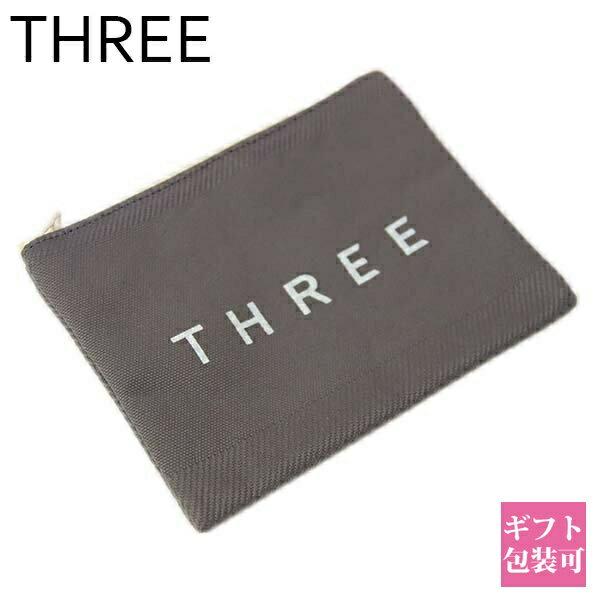 93d76ff91107 【即納 あす楽】スリー THREE ポーチ フラットポーチ Sサイズ【コスメ 財布 代わり