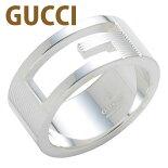 グッチGUCCIリング指輪ペアリングブランデッドレギュラーGリングシルバー032660098408106アクセサリー