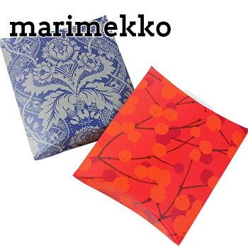 マリメッコmarimekkoギフトボックスプレゼントボックスフィンランド北欧雑貨pillowboxM