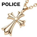 ポリスPOLICEネックレスメンズペンダントグレースGRACEクロス十字架ゴールド25154PSG02GOLG