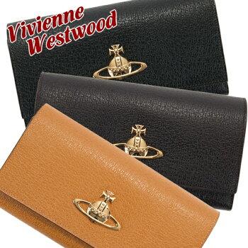 ヴィヴィアンウエストウッドVivienneWestwood財布長財布レディース二つ折りEXECUTIVE3118C98
