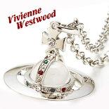 ヴィヴィアンウエストウッドVivienneWestwoodネックレスメンズレディーススモールオーブペンダントシルバーSMALLORBPENDANTSILVER