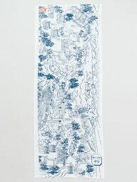 【岩座(いわくら)】 公式 伊勢名所之図手拭岩座 神社 祈り 天然石 雑貨 手ぬぐい・タオル2JQP0001