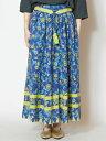 【SALE】チャイハネ 公式 《エーレンスカート》 エスニック アジアン ファッション スカート IRR-9105