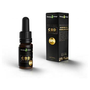 12% プレミアムブラックオイルドロップ Premium Black Oil Drop 1200mgCBD/10ml-101-02