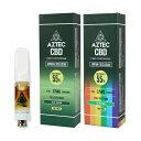 CBD カートリッジ/55%(275mg)アステカ フルスペクトラムカートリッジ 0.5ml / AZTEC Full Spectrum Cart...