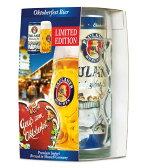 パウラーナーオクトーバーフェストビア 1,000ml (缶)&グラスセット 2016
