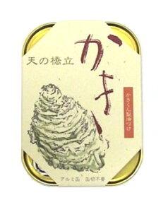 天の橋立 かき燻製油漬 缶詰 105g 竹中缶詰