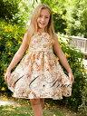 『花柄のフォーマルワンピースドレス(GD-028)』 キッズドレス、女の子、 ワンピース、 フォーマルドレス、 発表会、 結婚式、花柄、 80-140cm 【CC-Princess】