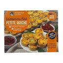 ミニキッシュアソート 30個×2 ベーコンチーズ & リコッタピスナッチ Temptation Bakeries Petit Quiche Assort