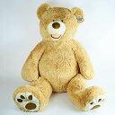 【送料無料】超大型♪癒しのテディベア (ベージュ) HUGFUN コストコ・クマのぬいぐるみ 53インチ 135cm