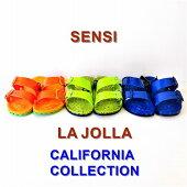 センシサンダルラホヤカリフォルニアコレクション/SENSILAJOLLA『CALIFORNIACOLLECTION』イタリア製/MADEINITALY/26.5cm・27.5cm