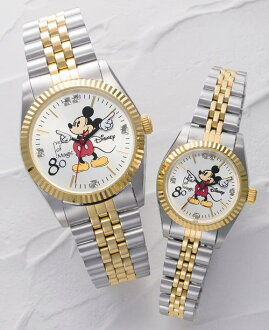 Wrapping &! * Cod non-Mickey's 80th anniversary Memorial clock simple / living / gadgets / bedroom / Disney / / watch