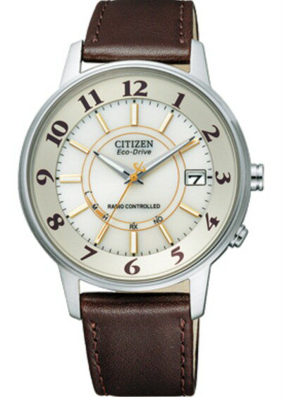 !! Citizen citizen FORMA form Eco-Drive Eco drive radio time signal Stai Risch model FRD59-2484 men