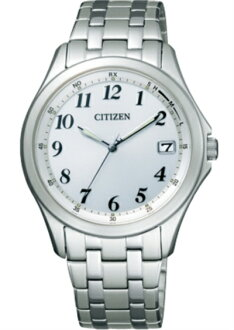 !! CITIZEN citizen FORMA forma Eco-Drive radio watch Perfex powered standard model FRD59-2553 mens