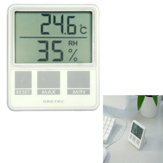-In cash on send is usually the shipping is very popular! on pandemic flu preparedness, a temperature and humidity controlled! DRETEC / ドリテック digital temperature humidity meter O-214
