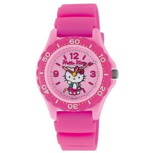 Send in stock 11/2013 ( cash on additional shipping fee. ) citizen watch co., Ltd. Q & Q watch watch HELLO KITTY Hello Kitty character watch VQ75-230