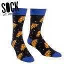 【メール便対応】Sock It To Me[ソック イット トゥ ミー] Pizza Party ソックス メンズ 靴下 総柄