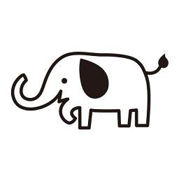 お名前スタンプ (安心スタンダード 15本セット)ゾウ 子供用 入園準備 入学準備 名前スタンプ 入園 なまえスタンプ セット 入園 お名前はんこ ひらがな