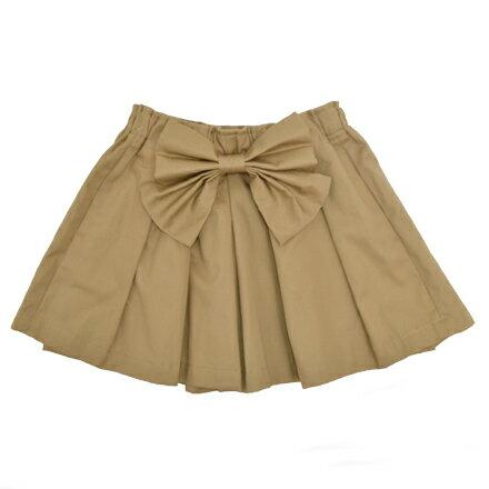 3e292af76ba2a キュロット ベージュ キュロットスカート キュロットパンツ (子供 ジュニア キッズ 幼児 小学生 女の子 入学祝い)