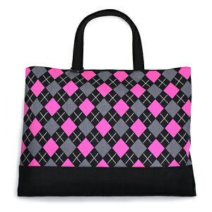 レッスンバッグ リバーシブルタイプ アーガイル・ピンク 日本製 スクールバッグ絵本バッグ...
