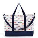 レッスンバッグ マチ付き 国旗で旅する世界旅行(生成) 日本製 【手提げバッグ おけいこバッグ…