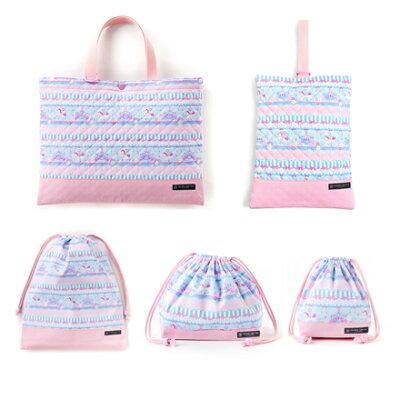 入園入学セット 子供用 キルティング レッスンバッグ シューズケース 入園 バッグ セット