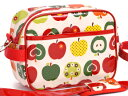 幼稚園 バッグ 通園バッグ キッズショルダーバッグ おしゃれリンゴのひみつ (アイボリー)スクールバッグ ショルダーバッグ (あす楽 子供 子供 キッズ 小学校 女の子)