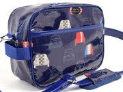 バッグ・キッズショルダーバッグ ドライブ フレンチ ネイビー スクール ショルダーバッグ レビュー プレゼント