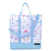 レッスン プリンセス パウダー ストライプ トートバッグ 手提げ袋 レビュー プレゼント