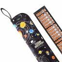 木製そろばんセット(雲州堂そろばん)太陽系惑星とコスモプラネタリウム(ブラック) (そろばんケース 23桁 ソロバン 袋 子供 用 木製 そろばんセット 子ども そろばんカバー 雲州 算盤 男の子 小学生 かわいい可愛い 袋 宇宙)
