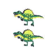 アイロン ワッペン スピノサウルス アップリケ