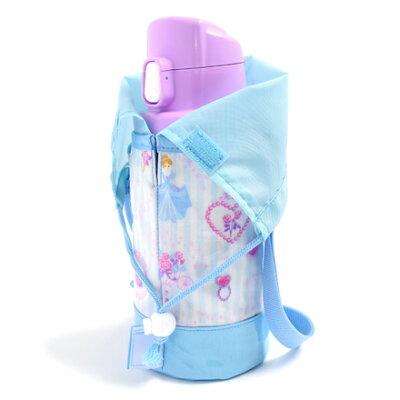 水筒カバー小プリンセスドレスで彩るパウダールーム(ストライプ)日本製