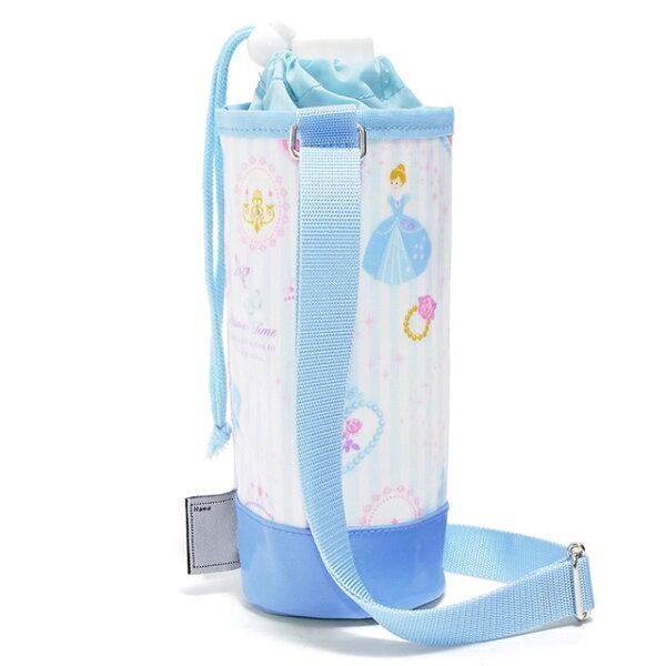 ペットボトルホルダーラミネートプリンセスドレスで彩るパウダールーム(ストライプ)子供用水筒カバー子供水筒ホルダーペットボトルホル