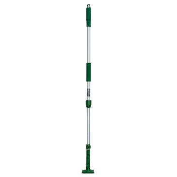 テラモト FX ハンドル アルミ伸縮柄 グリーン CL-374-100-1