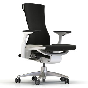 XW-01 Herman Miller ハーマンミラー Embody Chair エンボディチェア(チタニウム×ホワイト)...