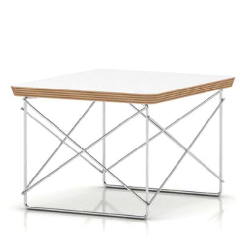 ハーマンミラー イームズワイヤーベーステーブル トリバレンクロームベース ホワイト天板 ET-2 hermanMiller LTRT9847