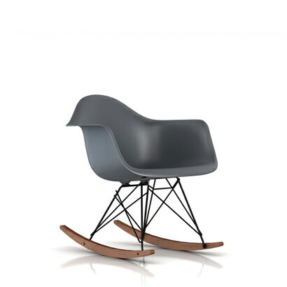 ハーマンミラー イームズ アームシェルチェア ロッカーベースウォールナット ブラック E10-0 Herman Miller Eames Shell Chairs RAR RAR.BKOUZA【送料無料】_dp05