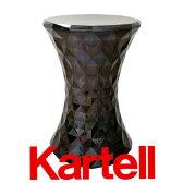 Kartell カルテル Stoneストーン(ロースツール)/スモークグレー STO-8800-SF
