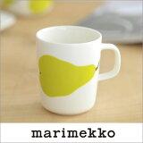 【セール40%OFF】marimekko PIENI PAARYNA マグカップ 42【69158】ホワイト×グリーン マリメッコ_ms40