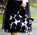 marimekko JAPAN UNIKKOBAG トートバッグ/ブラック 99(030)【42732】 マリメッコ ウニッコ _n_dp10